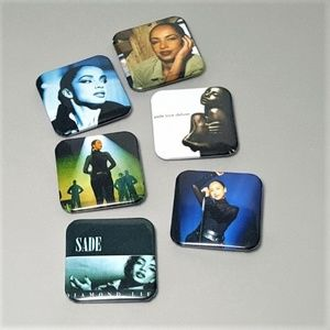 Sade Brooch Backpack Buttons Music Concert Pins
